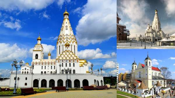 Архитектура: церкви и соборы Минска