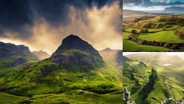 Природа Шотландии весной