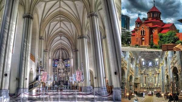 Архитектура храмов и соборов Украины
