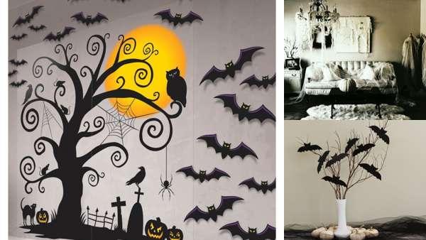 Декор интерьера на Хэллоуин