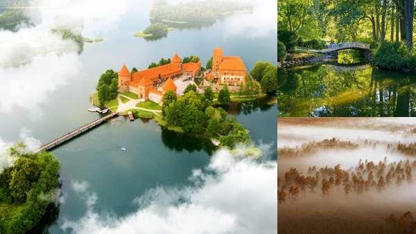 Природа Литвы летом