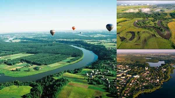 Природа Литвы весной