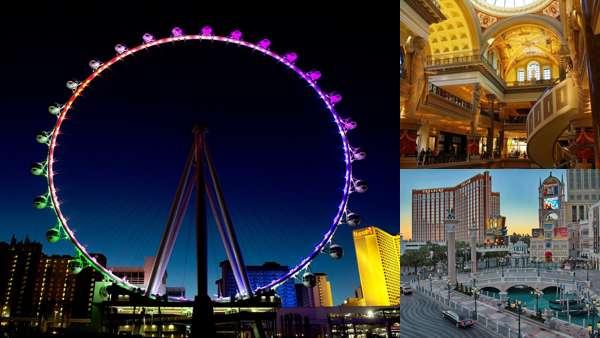Лас-Вегас - крупнейший туристический центр США.