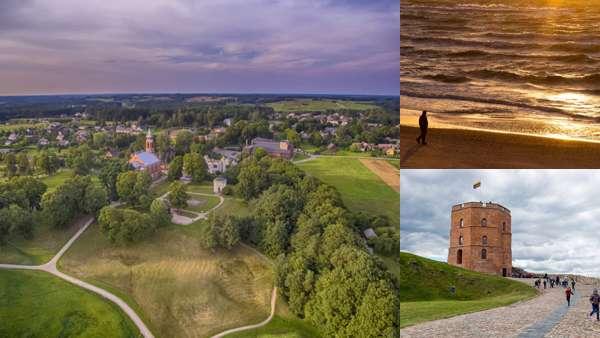 Красивые достопримечательности Литвы
