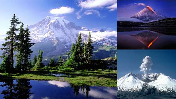 Большие вулканы мира