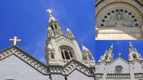 Церковь Святых Петра и Павла в Сан-Франциско на Вашингтон-Сквер