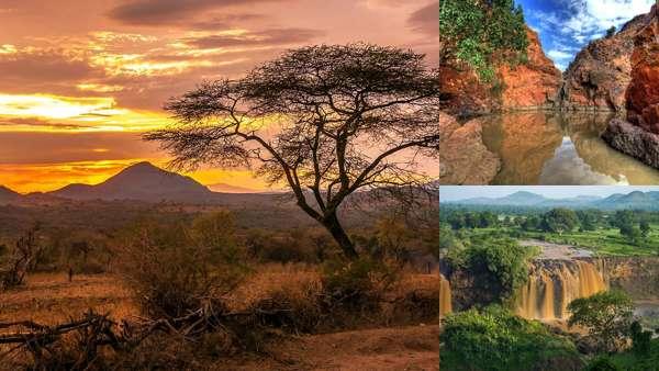 Эфиопия: фото природы