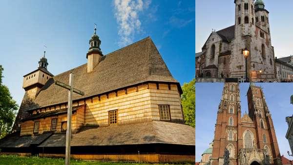 Польские храмы и соборы