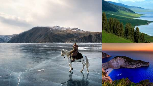 Байкал: пейзажи.