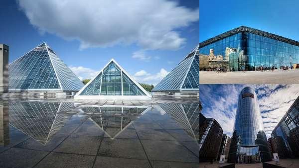 Современная архитектура. Муза воды и воздуха.