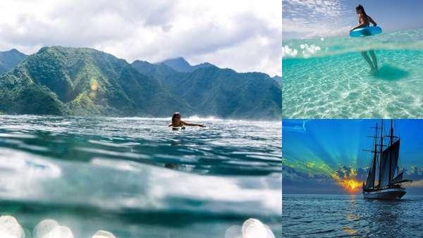 Тропики. Море. Океан.