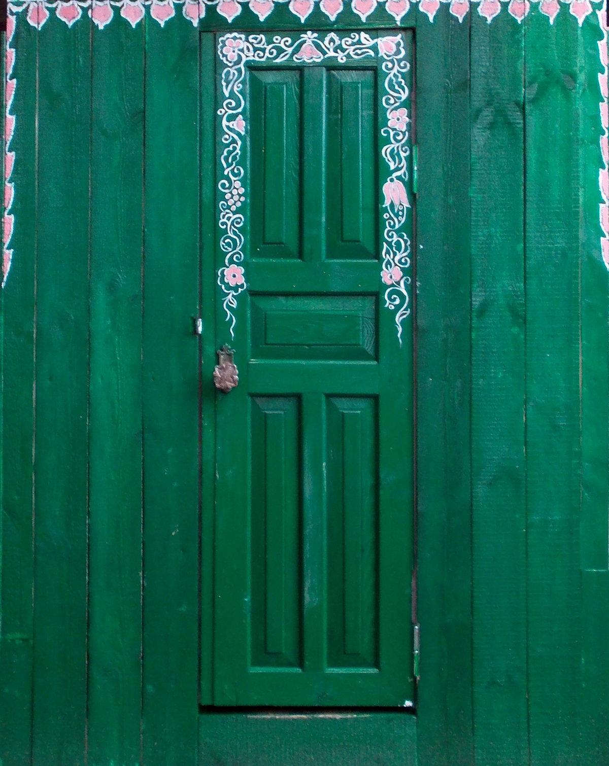 картинки двери деревенские луна символизирует