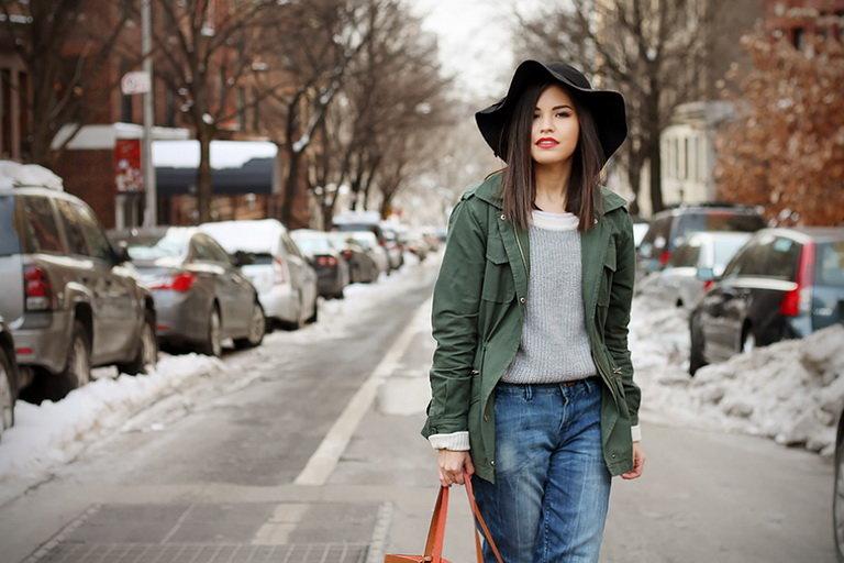 джинсы с чем носить зимой фото удивитесь, она совсем