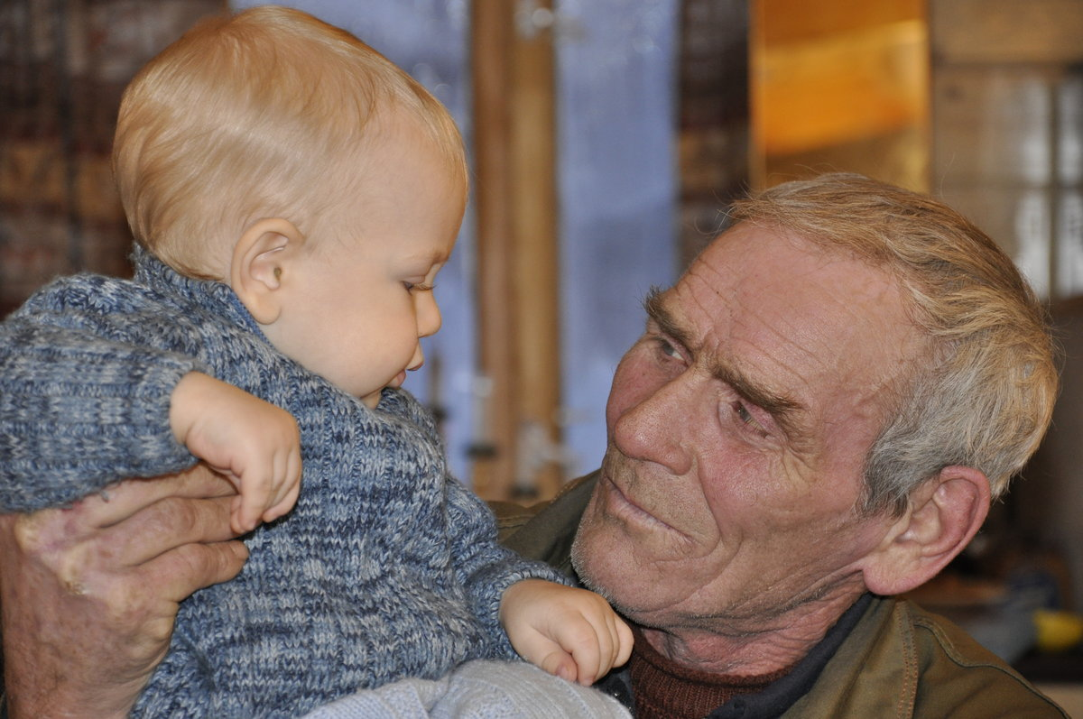 Дед внук картинки