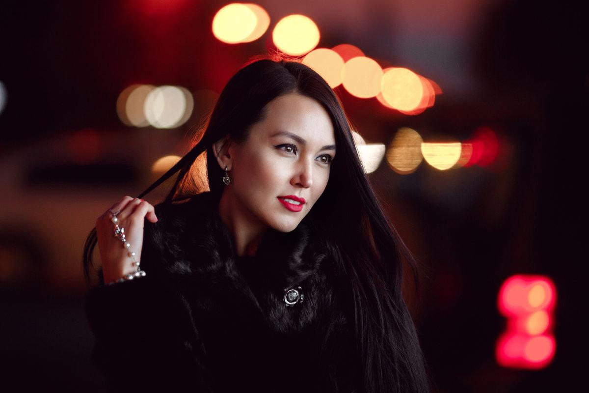 как фотографировать портрет в ночном городе честно говоря