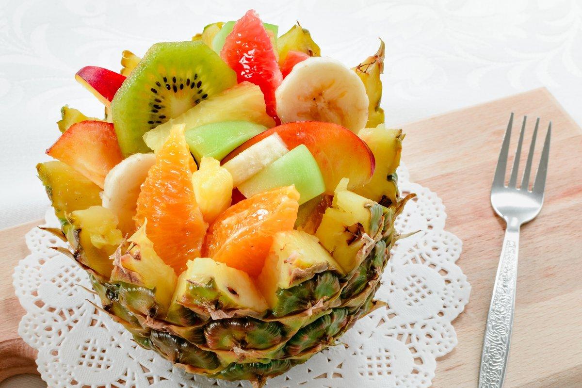 Рецепты из фруктов с фото пошагово необычные