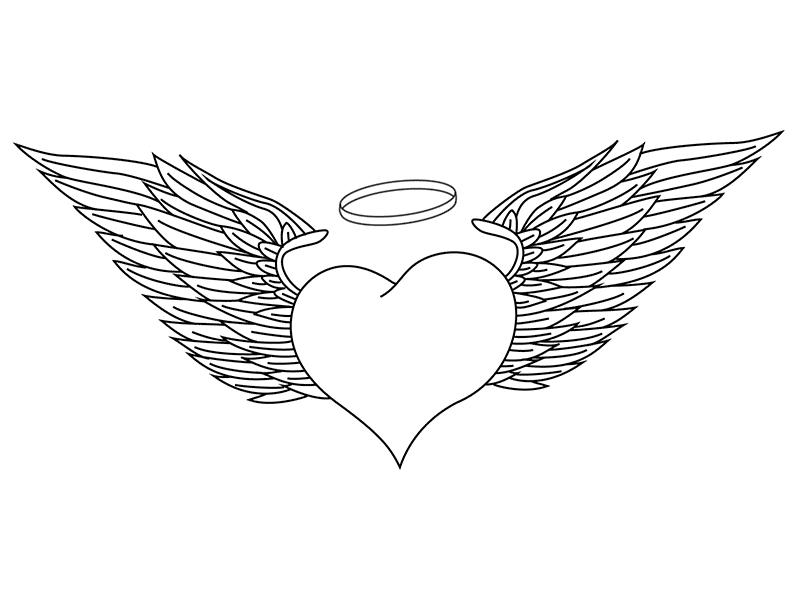 допускается, картинки как нарисовать сердце с крыльями красивые очень хочу