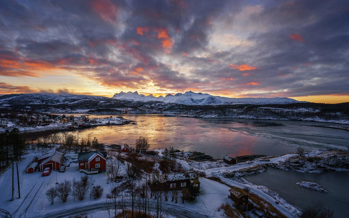 Открытки норвегия зимой