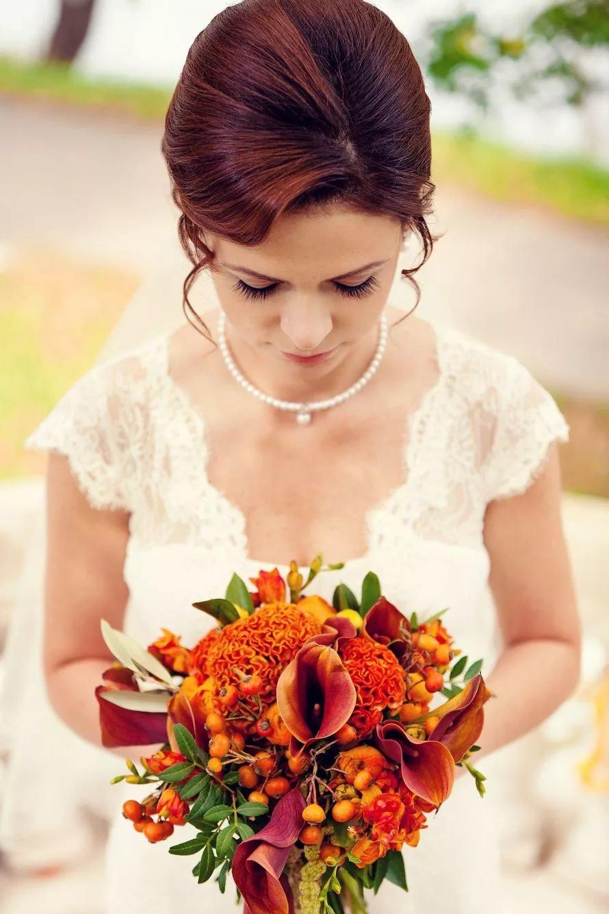 Пионов щербаковская, букет невесты оранжевые каллы