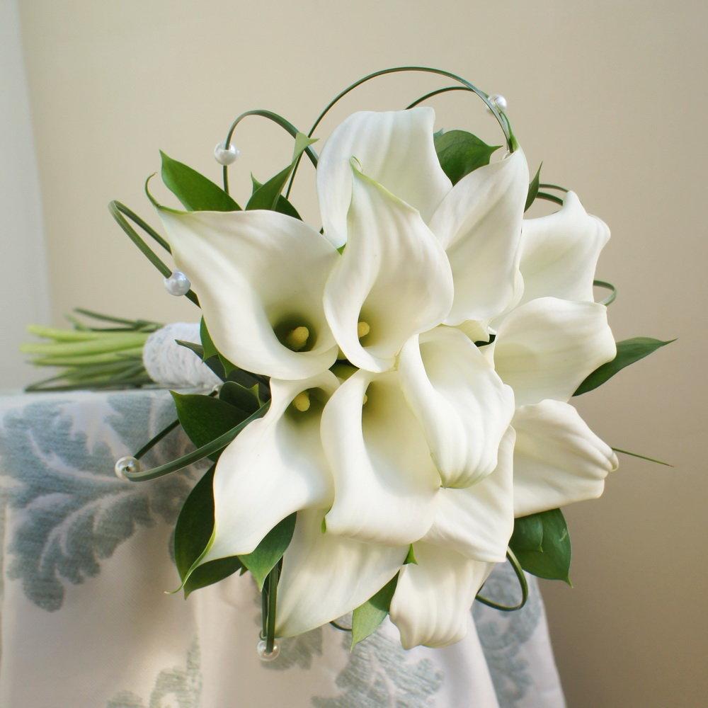 Букеты невесты с каллами