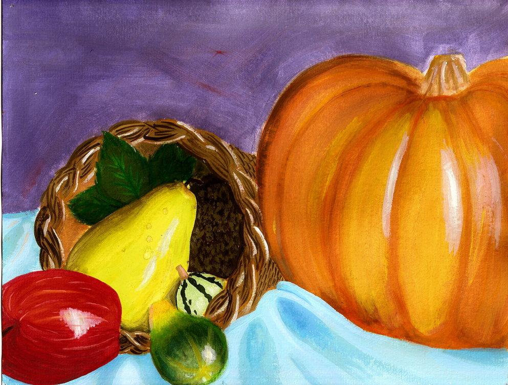 картинки для рисования натюрморта из фруктов чёрного моря значительно