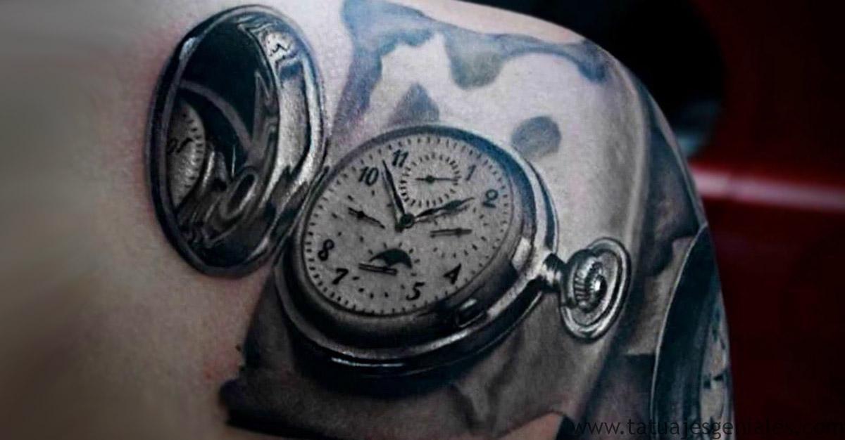 Catálogo De Los Tipos Detatuajes De Relojespara Hombres Para