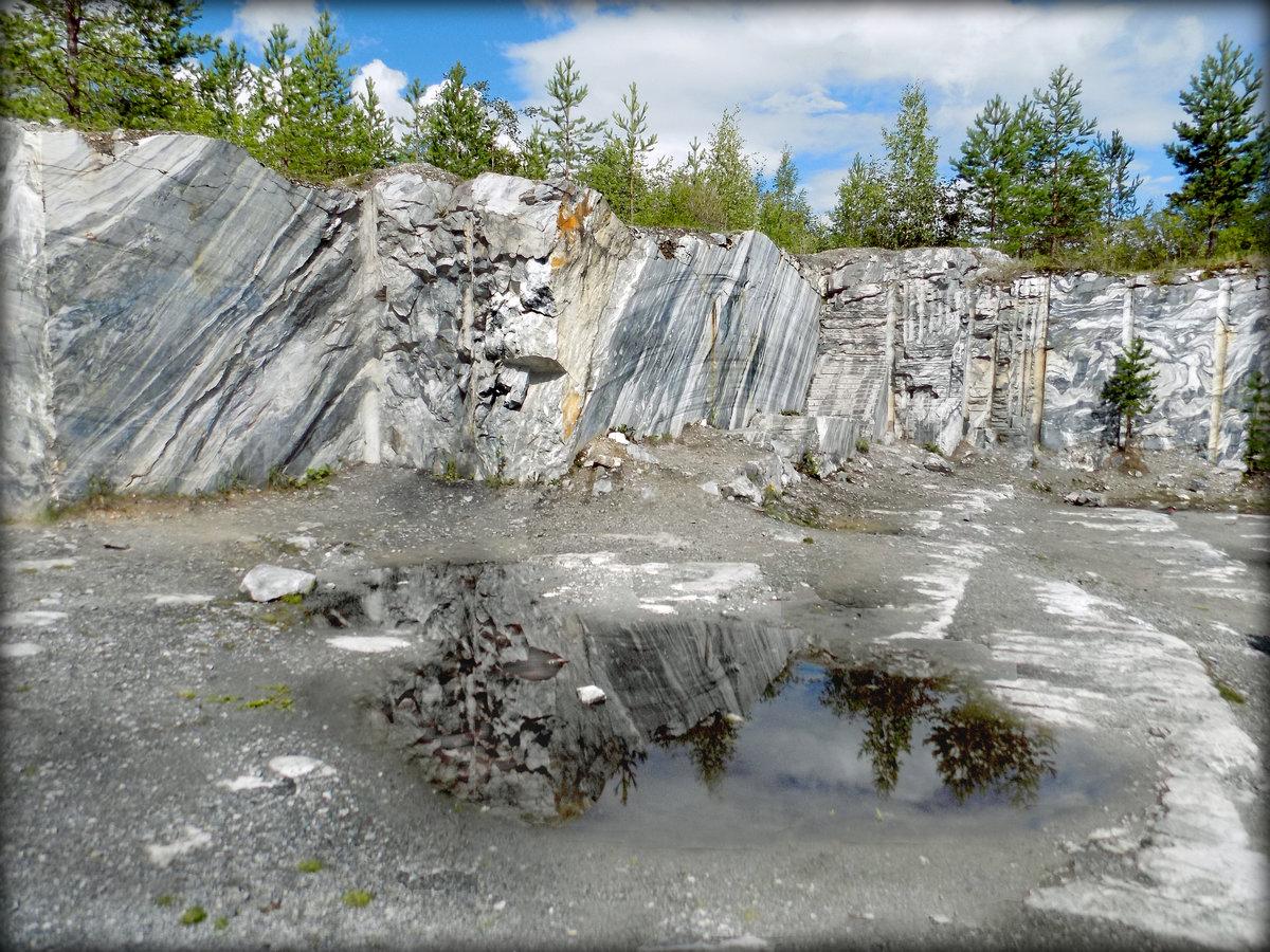 смотреть фото карелия карьер мрамора