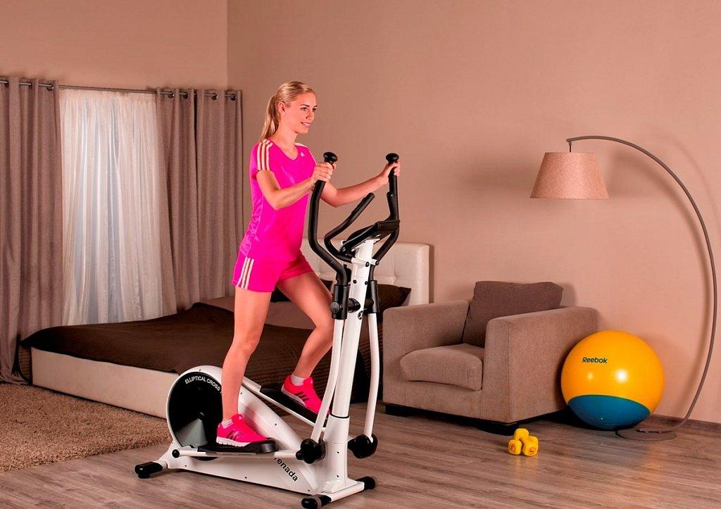 Велотренажер для дома можно похудеть