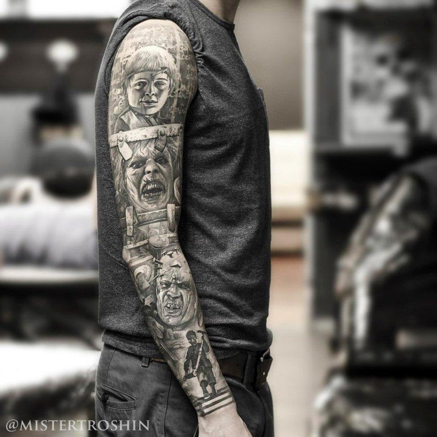 рамках самые красивые тату рукав фото забавляется