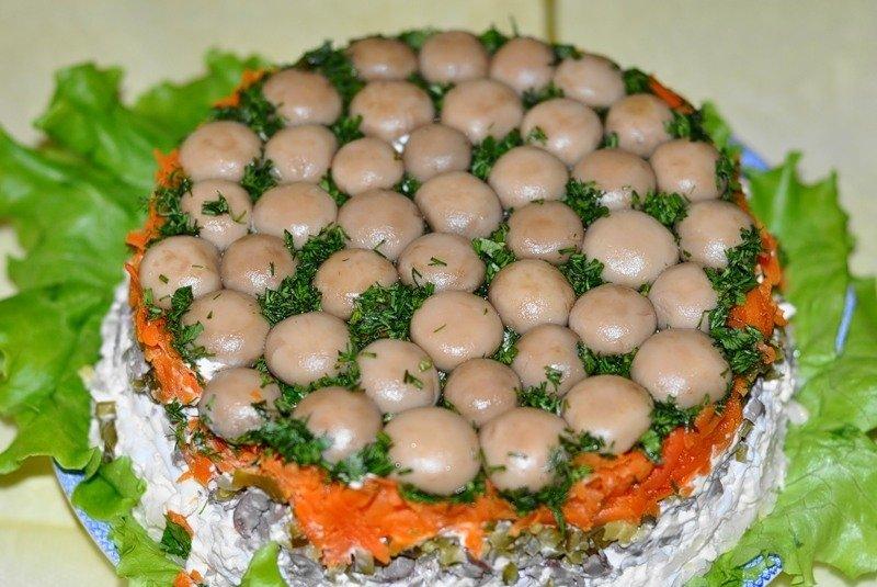 крупнейших численности рецепт салата грибная поляна пошагово с фото видеть