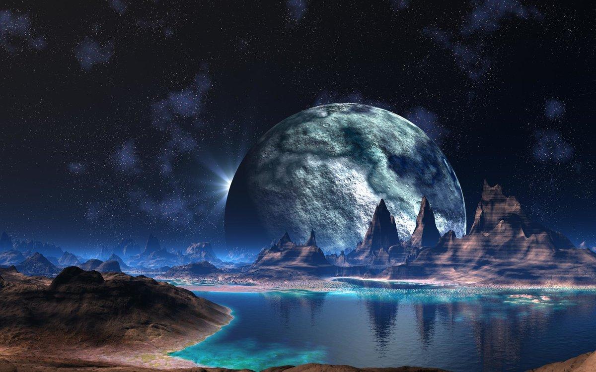 Рисунки, космическая фантазия картинки