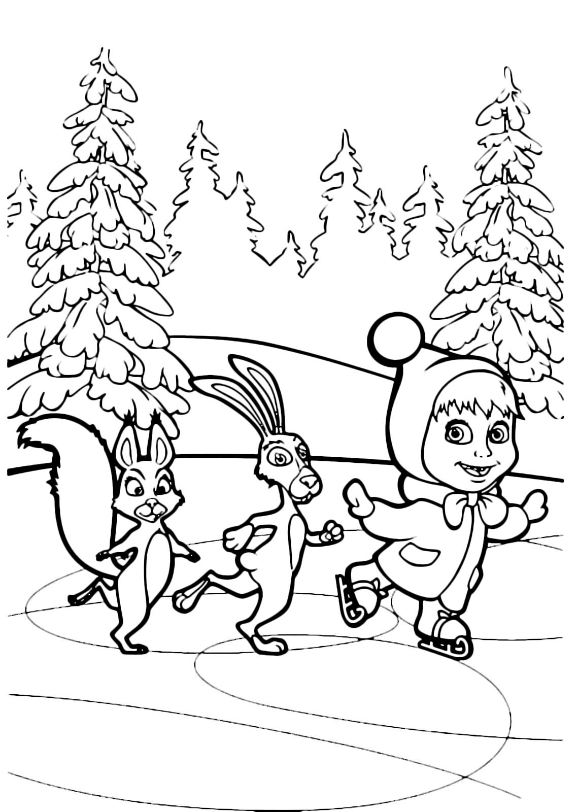 Gambar Sketsa Kelinci Dan Wortel 28 Images маша и медвед Card