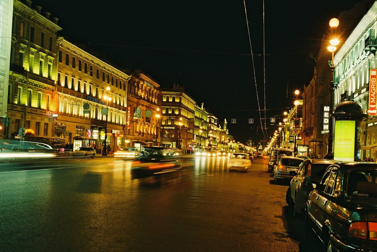 фото питер невский ночь каждой земле