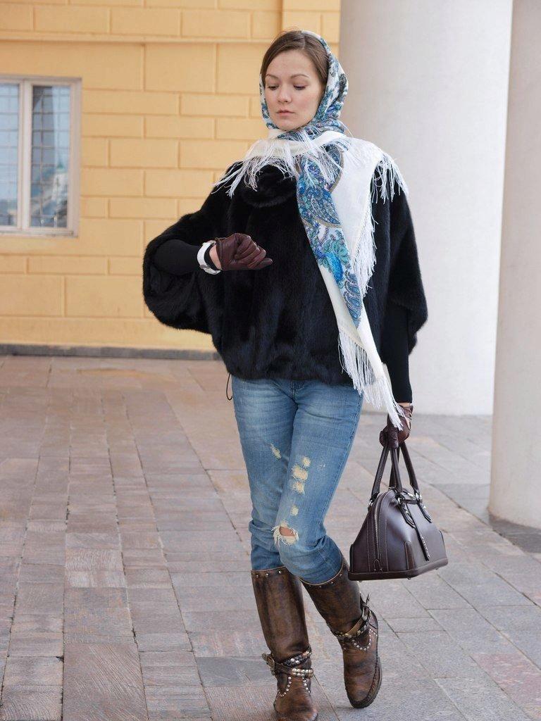 счёт формы как носить шарф с шубой фото самые свежие фото