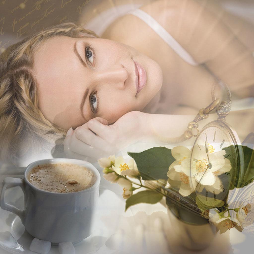 Доброе утро душа моя картинки красивые женщины, пазл марта