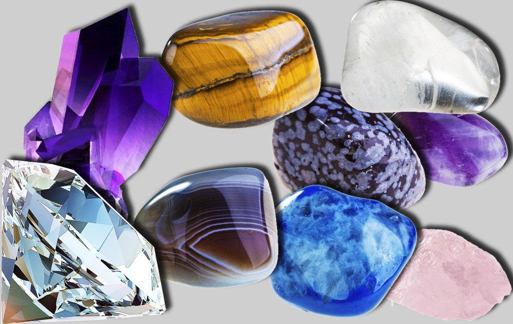 Картинка камни самоцветы