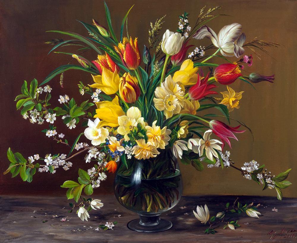 Картинки цветы натюрморт