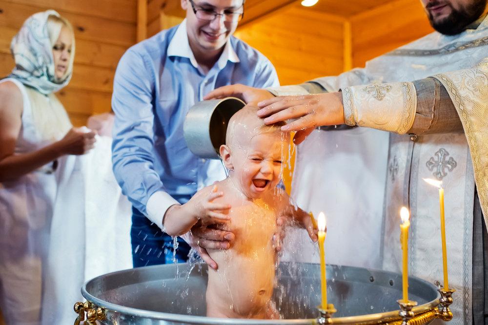 Картинки крещения в церкви