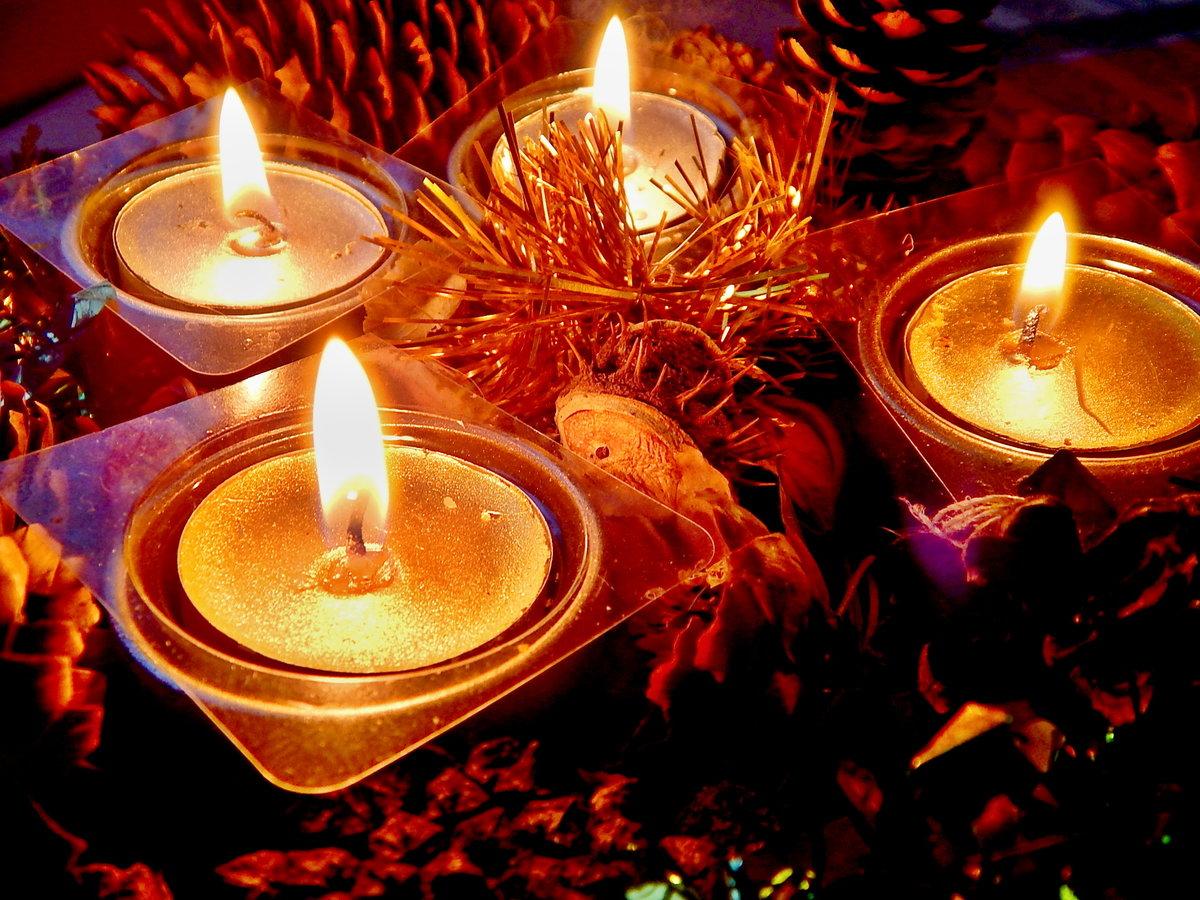 Картинки горящие свечи