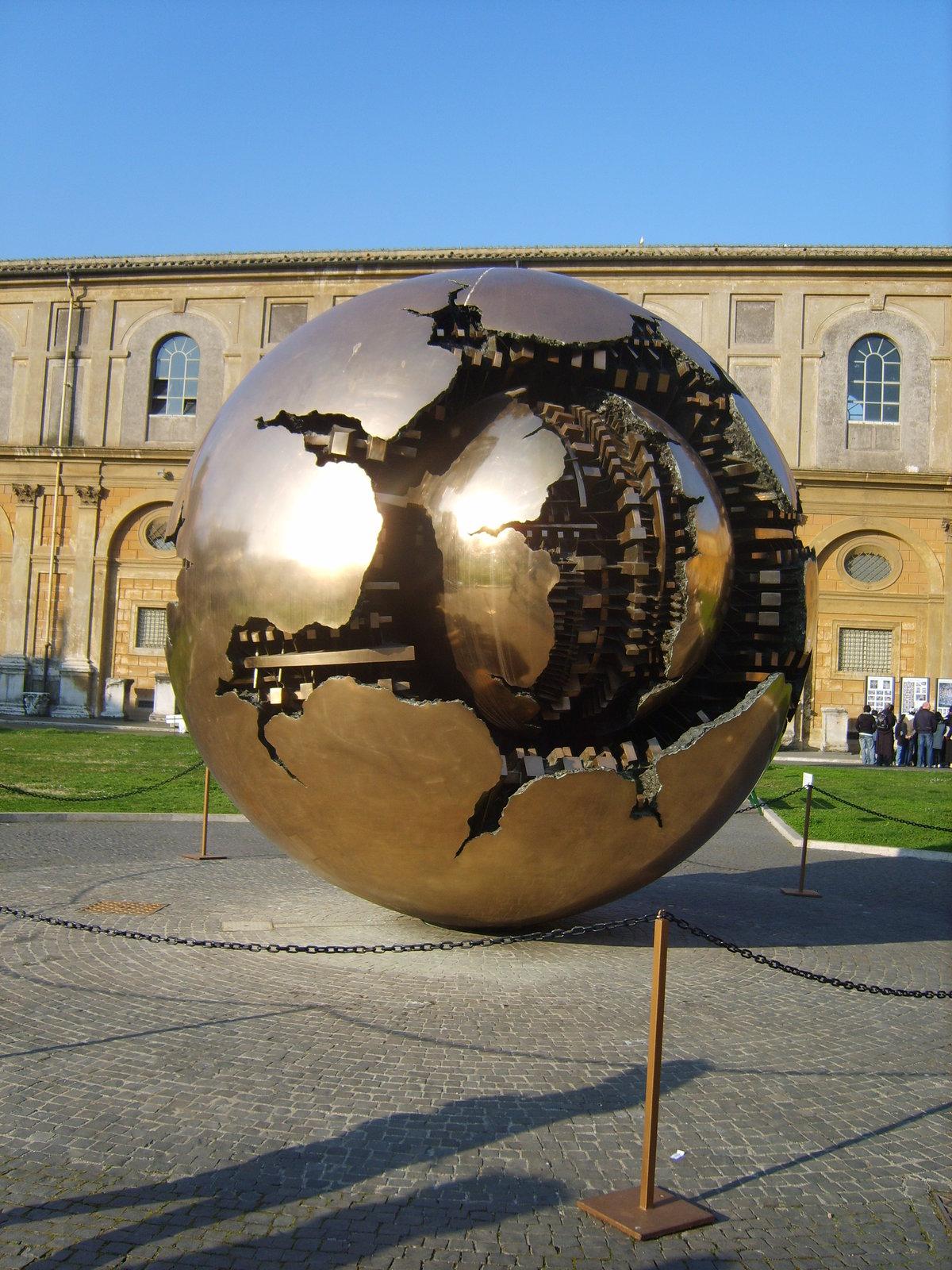 Италия,Ватикан.Памятник нашей планете Земля #ватикан #земля #италия #конкурс #путешествия
