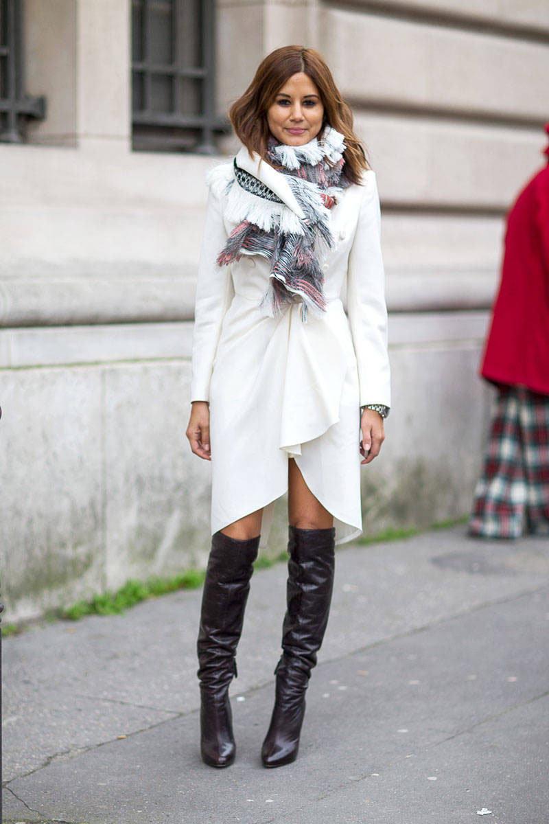 Уличная мода: Стиль Кристин Сентенера