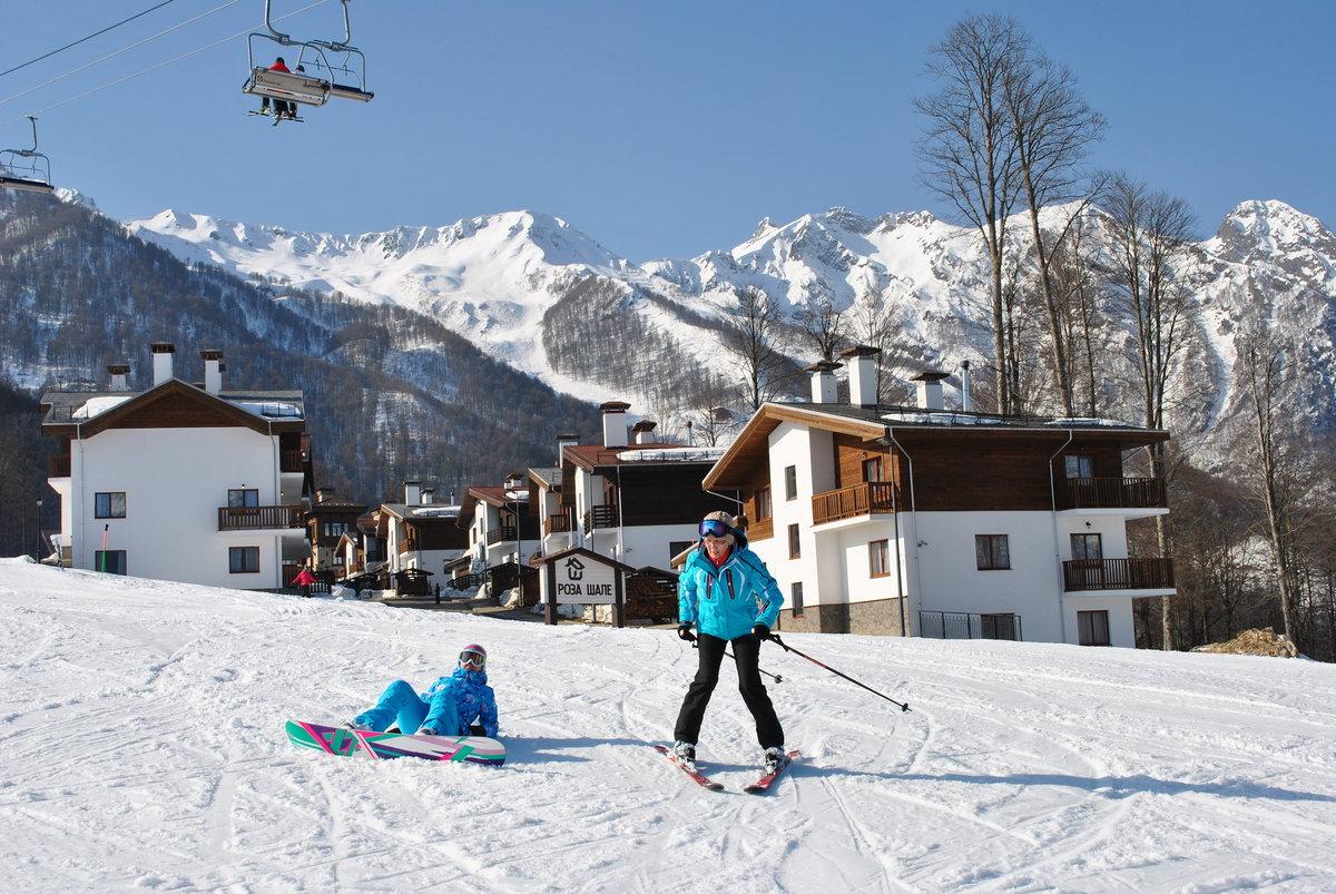 Сочи горы фото зимой туристов