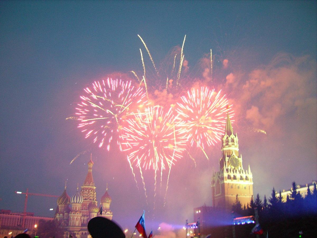 Картинки фейерверка дню москвы