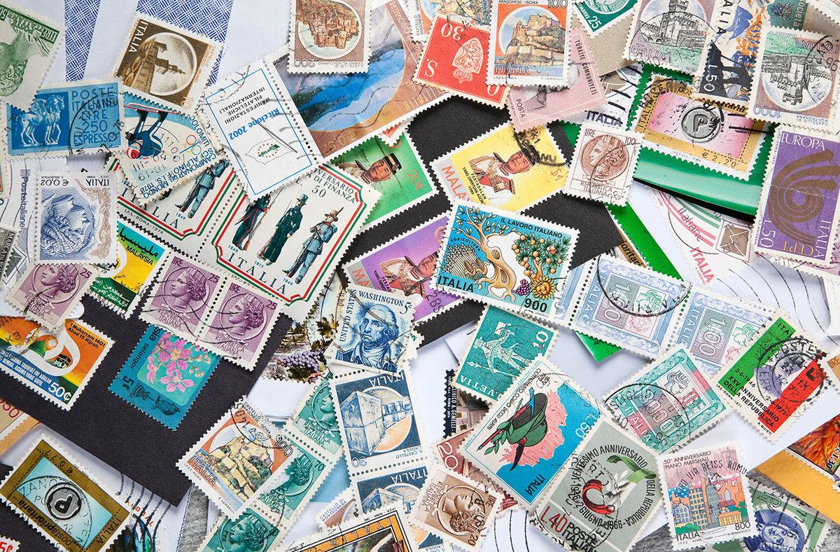 Водным крещением, коллекционирование открытки марки