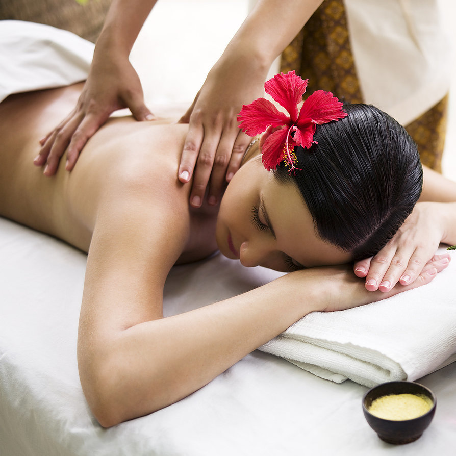 Картинки массажа для женщин