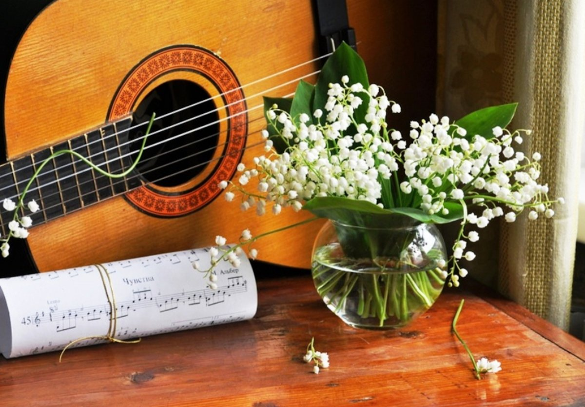 Открытки с гитарой фото