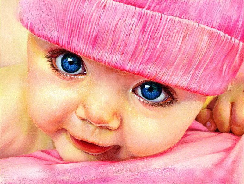 Малыш картинки красивые нарисованные