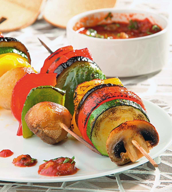 шашлык из овощей рецепт с фото краска
