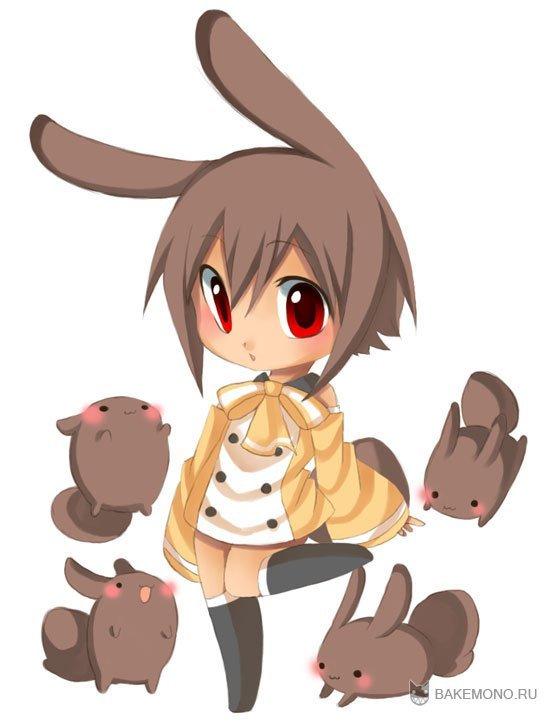 Картинки чиби кролика