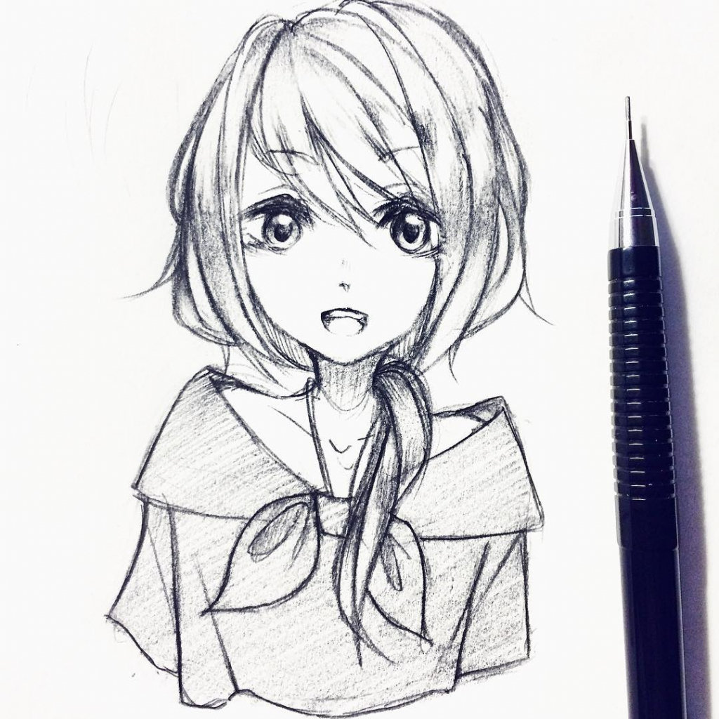 Pencil anime drawings pencil anime drawings drawing art collection photo pencil anime drawings pencil